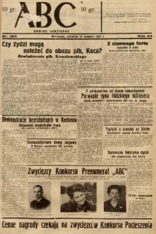 ABC : nowiny codzienne. 1937, nr125 |PDF|