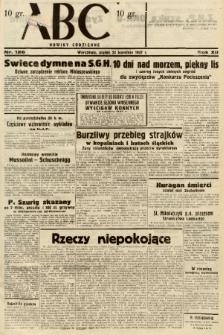 ABC : nowiny codzienne. 1937, nr126 |PDF|
