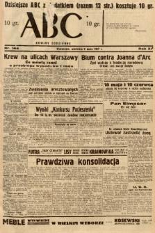 ABC : nowiny codzienne. 1937, nr144 [ocenzurowany] |PDF|