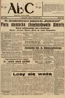 ABC : nowiny codzienne. 1937, nr170 |PDF|