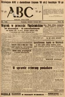 ABC : nowiny codzienne. 1937, nr176 |PDF|