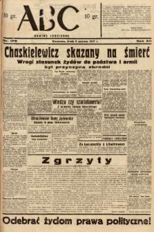ABC : nowiny codzienne. 1937, nr179 |PDF|