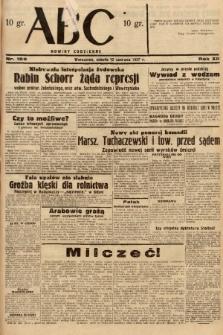 ABC : nowiny codzienne. 1937, nr182 |PDF|