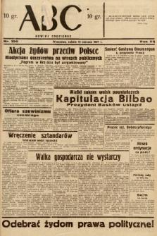 ABC : nowiny codzienne. 1937, nr190 |PDF|