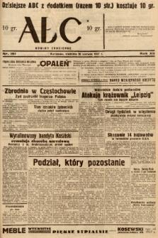 ABC : nowiny codzienne. 1937, nr191 |PDF|