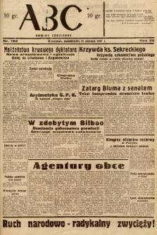 ABC : nowiny codzienne. 1937, nr192 |PDF|