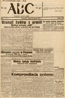ABC : nowiny codzienne. 1937, nr195 [ocenzurowany]  PDF 