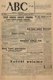 ABC : nowiny codzienne. 1937, nr205 |PDF|