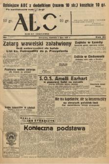 ABC : nowiny codzienne. 1937, nr[209] [ocenzurowany] |PDF|