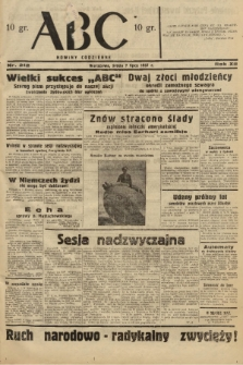 ABC : nowiny codzienne. 1937, nr212  PDF 