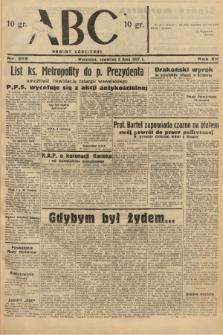 ABC : nowiny codzienne. 1937, nr213 |PDF|