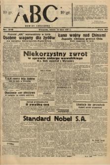 ABC : nowiny codzienne. 1937, nr218 |PDF|