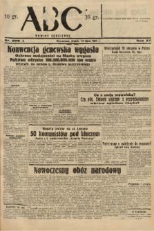 ABC : nowiny codzienne. 1937, nr222 A  PDF 