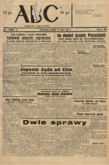 ABC : nowiny codzienne. 1937, nr223 A |PDF|