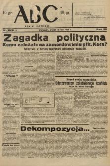 ABC : nowiny codzienne. 1937, nr226 A |PDF|