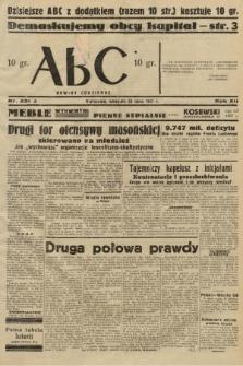 ABC : nowiny codzienne. 1937, nr231 A |PDF|