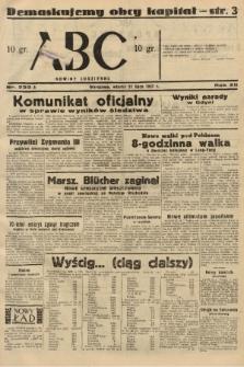 ABC : nowiny codzienne. 1937, nr233 A |PDF|