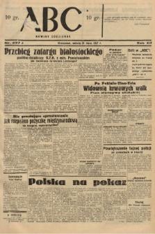 ABC : nowiny codzienne. 1937, nr237 A |PDF|