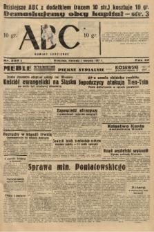 ABC : nowiny codzienne. 1937, nr238 A |PDF|