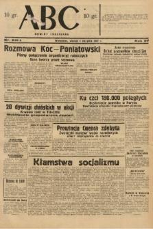 ABC : nowiny codzienne. 1937, nr241 A  PDF 