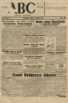 ABC : nowiny codzienne. 1937, nr249 A  PDF 