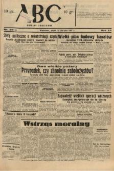 ABC : nowiny codzienne. 1937, nr251 A  PDF 