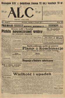 ABC : nowiny codzienne. 1937, nr253 A |PDF|