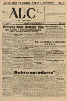 ABC : nowiny codzienne. 1937, nr257 A |PDF|