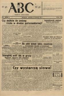 ABC : nowiny codzienne. 1937, nr258 A |PDF|