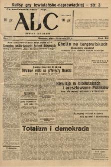 ABC : nowiny codzienne. 1937, nr[260] [ocenzurowany] |PDF|