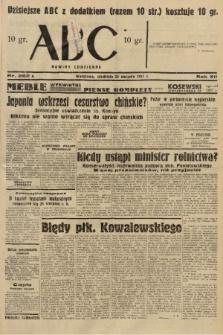 ABC : nowiny codzienne. 1937, nr262 A |PDF|