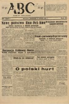 ABC : nowiny codzienne. 1937, nr263 A |PDF|