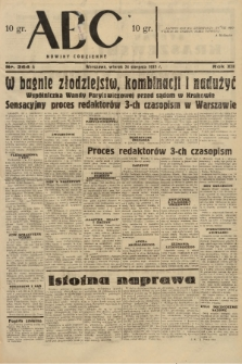 ABC : nowiny codzienne. 1937, nr264 A |PDF|