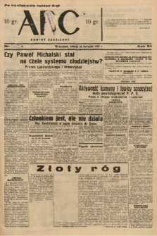ABC : nowiny codzienne. 1937, nr[273] A [ocenzurowany] |PDF|