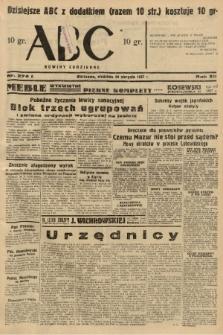 ABC : nowiny codzienne. 1937, nr274 A |PDF|