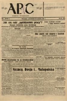 ABC : nowiny codzienne. 1937, nr275 A |PDF|