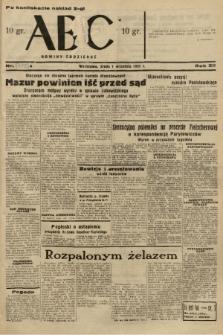 ABC : nowiny codzienne. 1937, nr[278] A [ocenzurowany] |PDF|