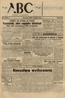 ABC : nowiny codzienne. 1937, nr280 A  PDF 