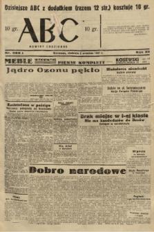 ABC : nowiny codzienne. 1937, nr282 A |PDF|