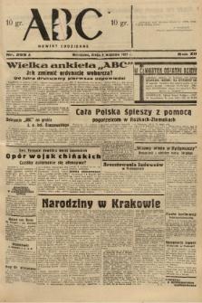 ABC : nowiny codzienne. 1937, nr285 A |PDF|