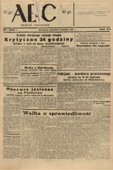ABC : nowiny codzienne. 1937, nr286 A |PDF|