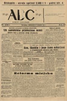 ABC : nowiny codzienne. 1937, nr306 A [ocenzurowany] |PDF|