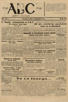 ABC : nowiny codzienne. 1937, nr311 A |PDF|