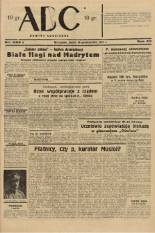 ABC : nowiny codzienne. 1937, nr345 A |PDF|
