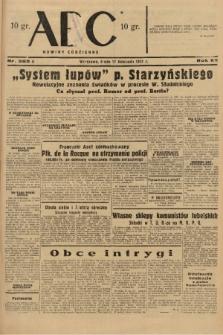 ABC : nowiny codzienne. 1937, nr365 A |PDF|