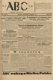 ABC : nowiny codzienne. 1937, nr370 A |PDF|