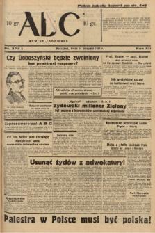 ABC : nowiny codzienne. 1937, nr372 A |PDF|