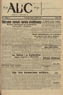 ABC : nowiny codzienne. 1937, nr380 A |PDF|