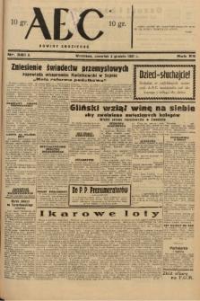ABC : nowiny codzienne. 1937, nr381 A |PDF|