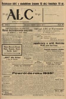 ABC : nowiny codzienne. 1937, nr385 A  PDF 